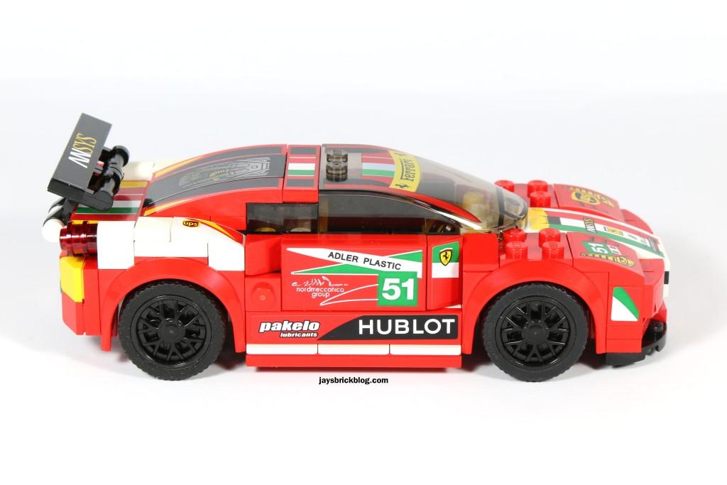 LEGO 75908 - Ferrari 458 Italia GT2 Side View