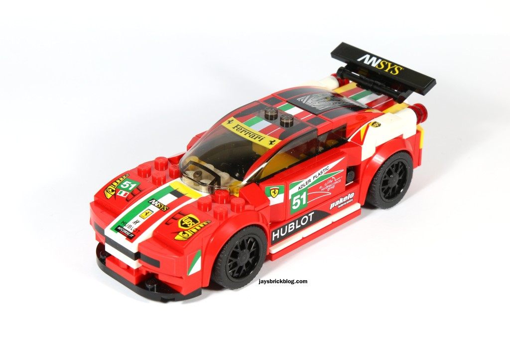 LEGO 75908 - Ferrari 458 Italia GT2 Stickers