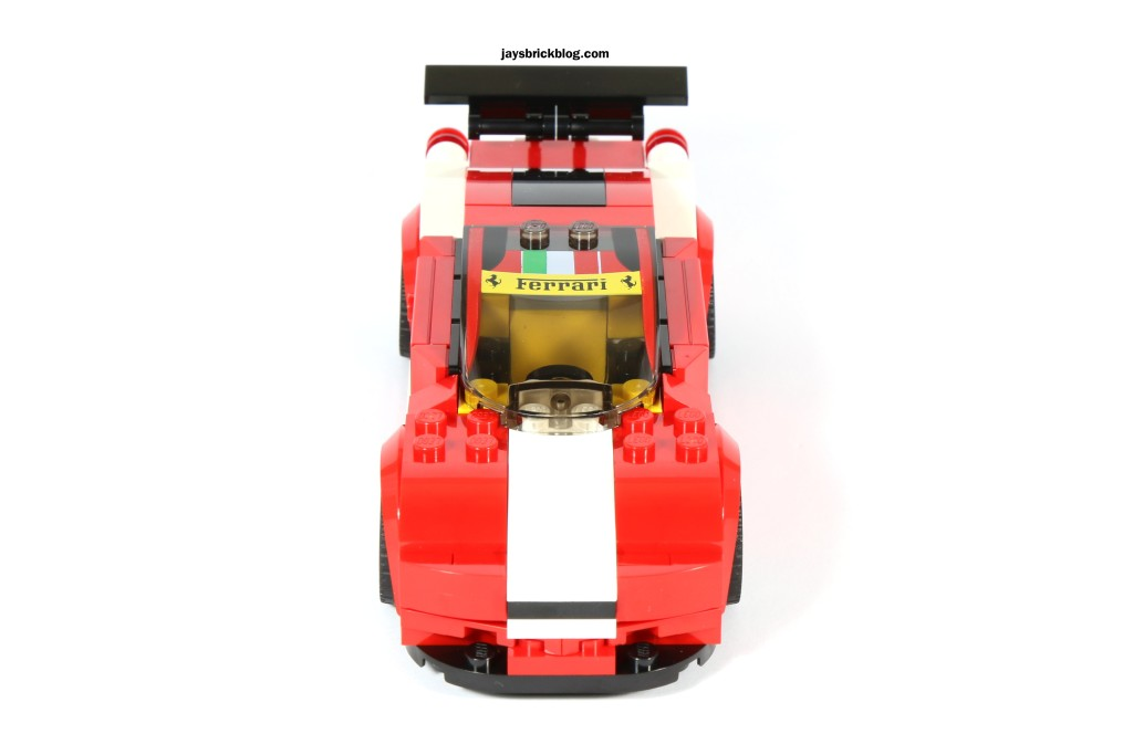 LEGO 75908 - Ferrari 458 Italia GT2 Without Stickers Front View