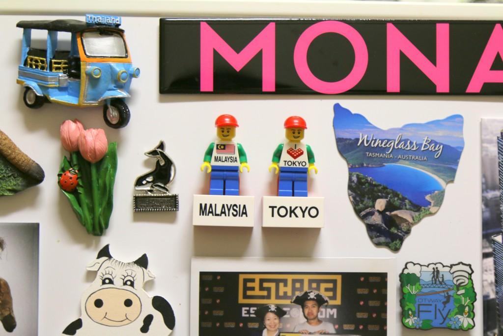 LEGO Fridge Magnets Tokyo