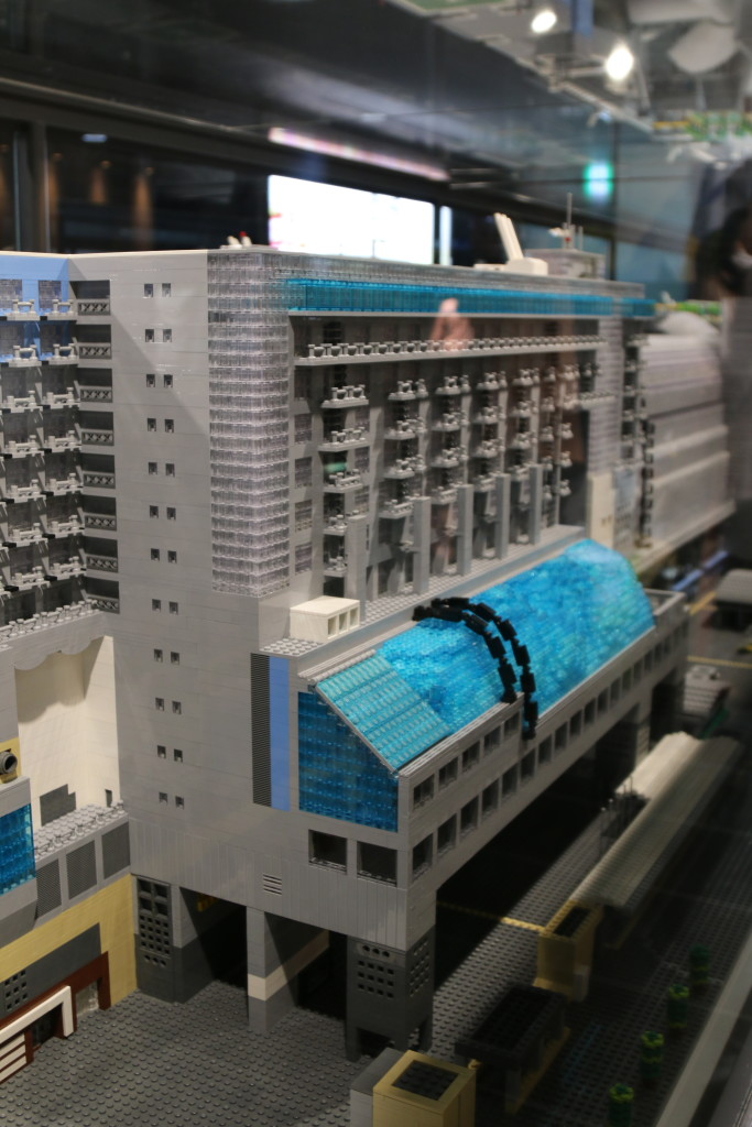 LEGO Kyoto Station Closeup