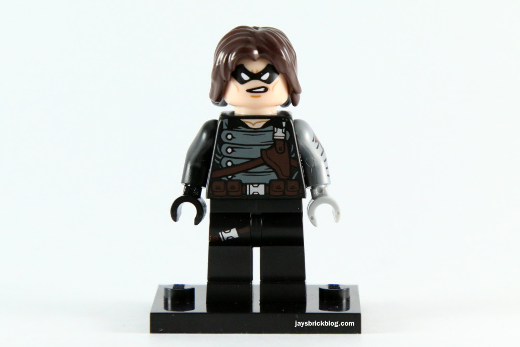 LEGO 5002943 - Winter Soldier Minifig Alternate Face