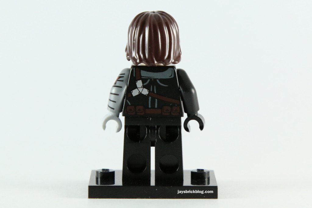 LEGO 5002943 - Winter Soldier Minifigure Back