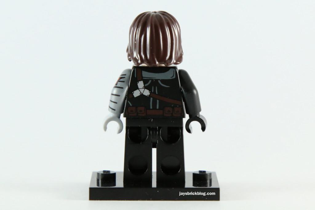 LEGO 5002943 - Winter Soldier Minifigure Back