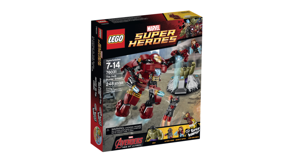 LEGO 76031 - The Hulk Buster Smash Box
