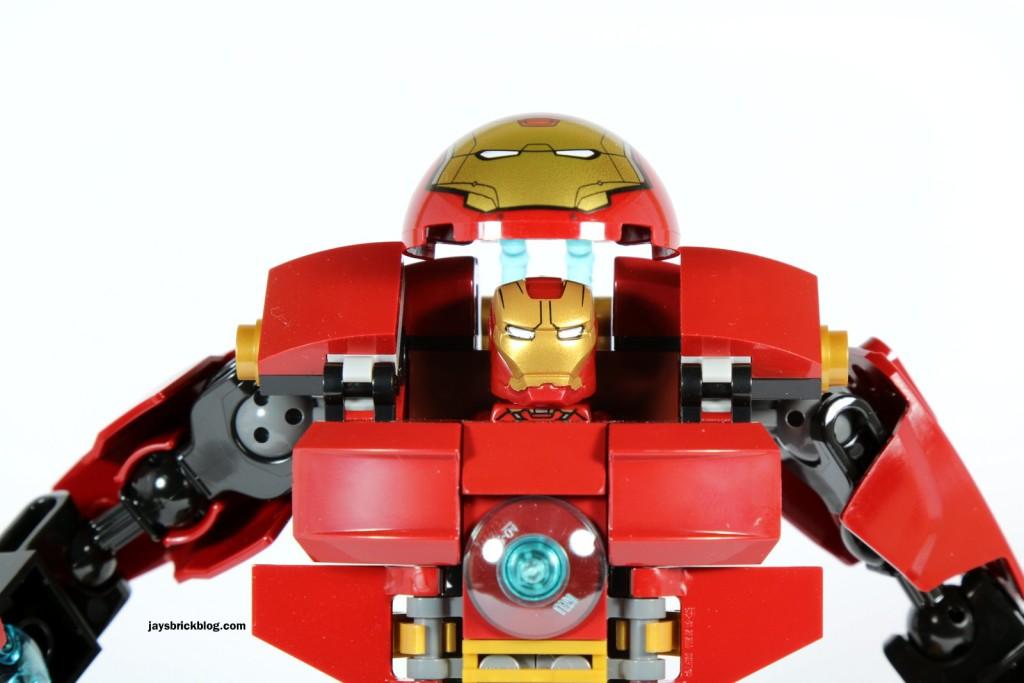 LEGO 76031 - The Hulk Buster Smash - Hulk Buster Open Helmet