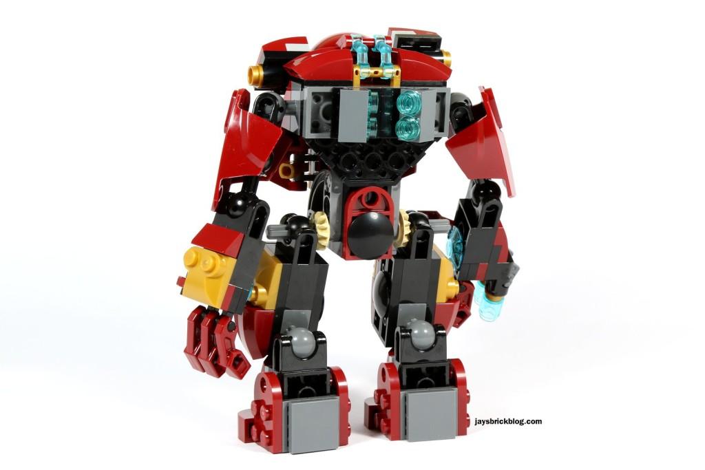 LEGO 76031 - The Hulk Buster Smash - Hulk Buster Suit Back