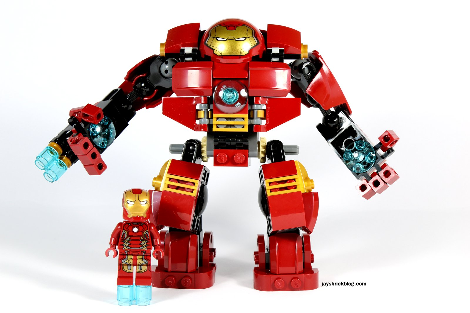 Review Lego 76031 The Hulk Buster Smash