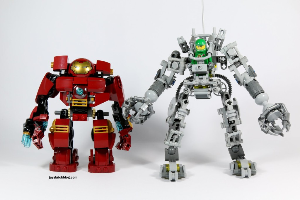 LEGO 76031 - The Hulk Buster Smash - Hulk Buster and Exo Suit