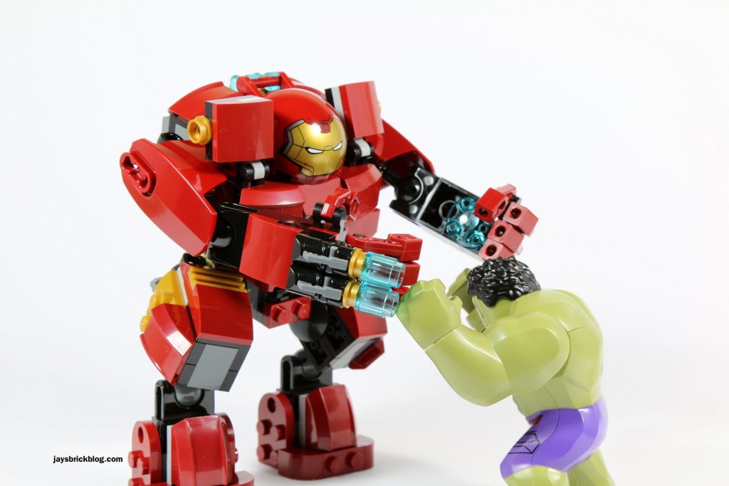LEGO 76031 - The Hulk Buster Smash - Hulk Buster vs The Hulk
