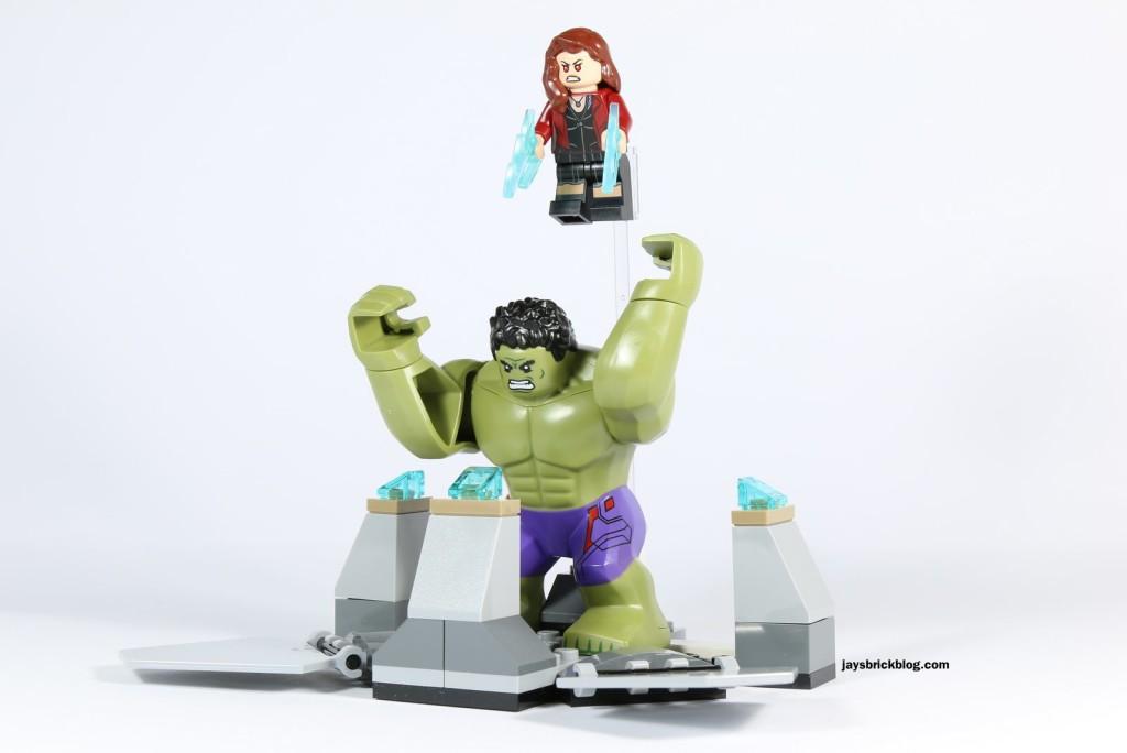 LEGO 76031 - The Hulk Buster Smash - Hulk Prison Smashed
