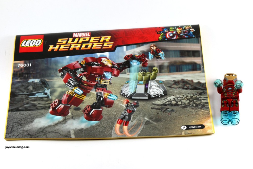 LEGO 76031 - The Hulk Buster Smash - Instruction Manual