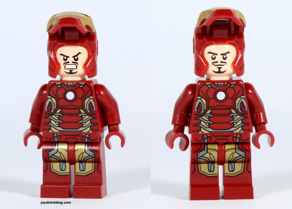 LEGO 76031 - The Hulk Buster Smash - Iron Man Alternate Face