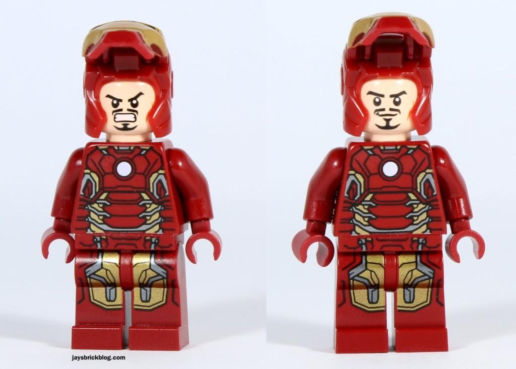 LEGO 76031 - The Hulk Buster Smash - Iron Man Alternate Face