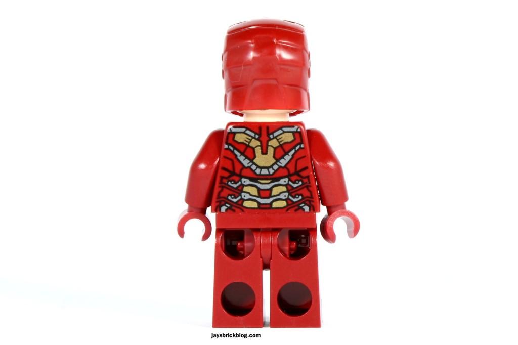 LEGO 76031 - The Hulk Buster Smash - Iron Man Minifigure Back