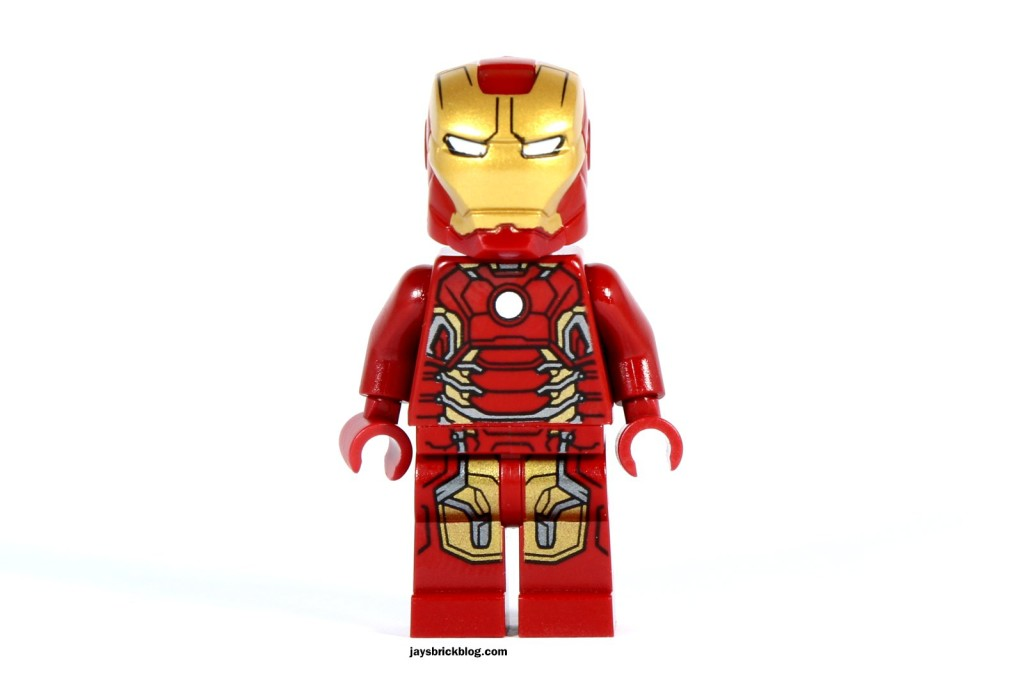 LEGO 76031 - The Hulk Buster Smash - Iron Man Mk43 Armour Minifigure