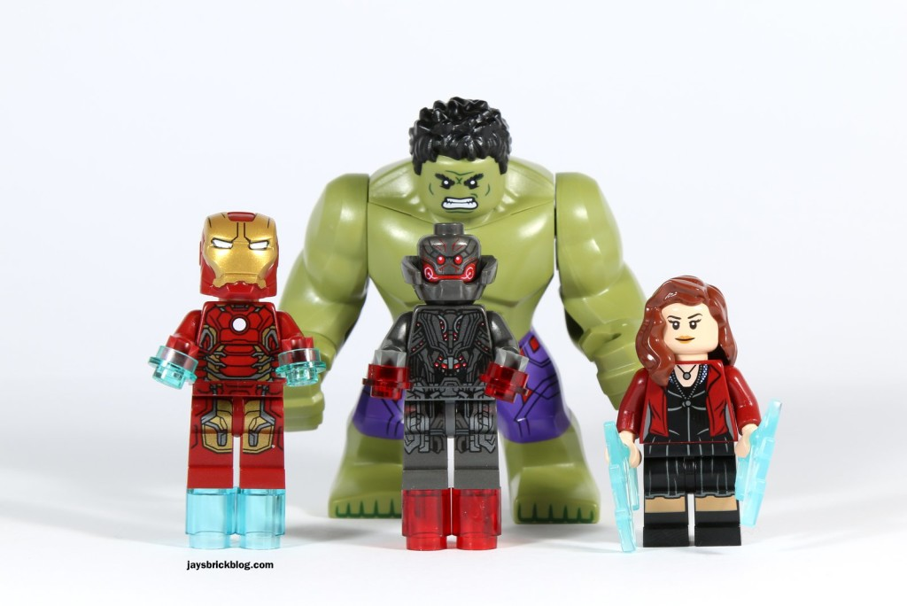 LEGO 76031 - The Hulk Buster Smash - Minifigures