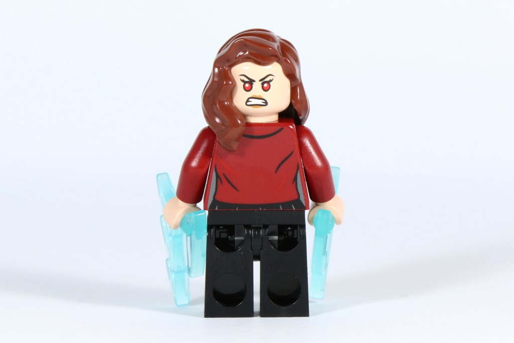 LEGO 76031 - The Hulk Buster Smash - Scarlet Witch Minifigure Back