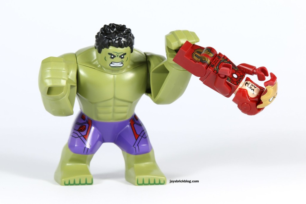 LEGO 76031 - The Hulk Buster Smash - The Hulk Manhandling Iron Man
