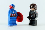 LEGO Captain America and Winter Soldier Minifigure