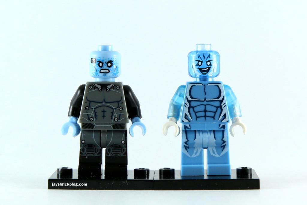 LEGO Electro Minifig Comparison