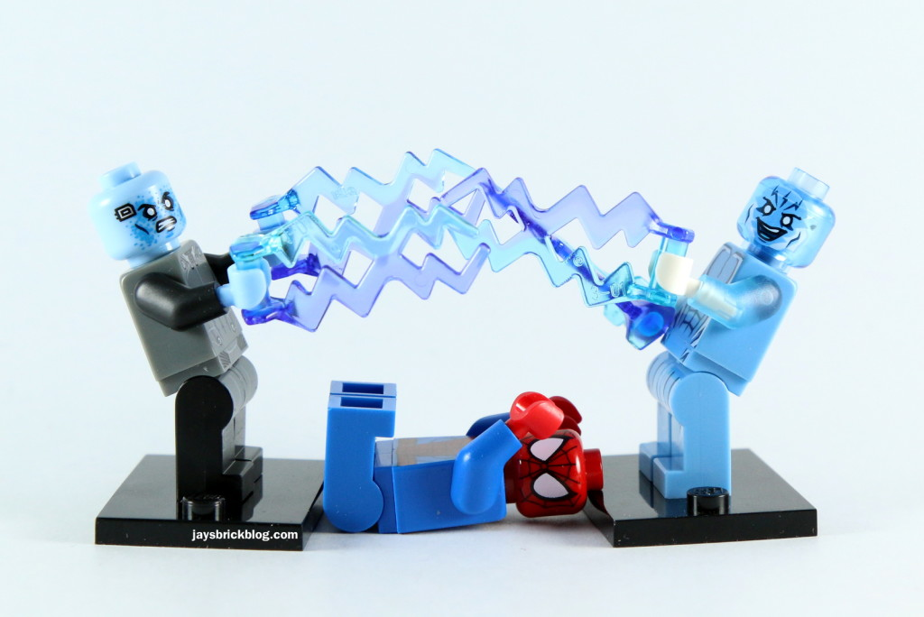 LEGO Electro vs Spider-Man