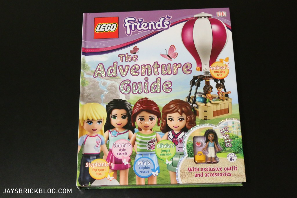 LEGO Friends The Adventure Guide Book