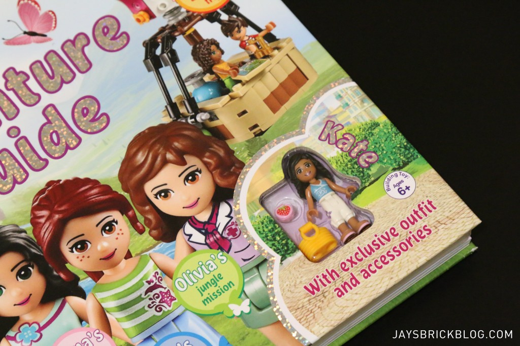 LEGO Friends The Adventure Guide Book - Exclusive Minifigure Kate