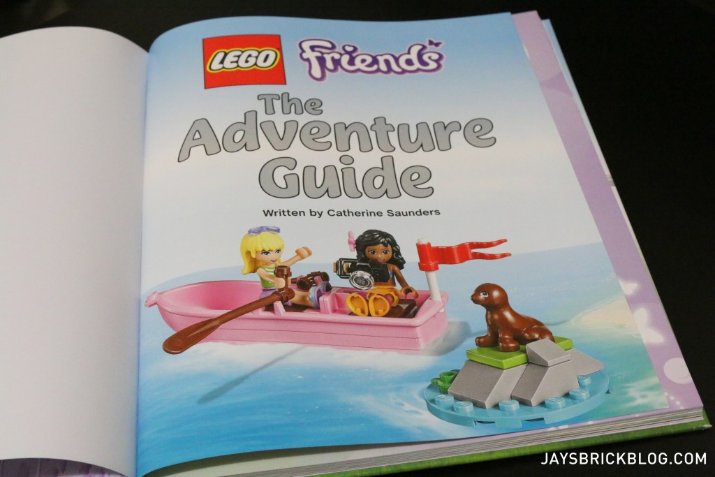 LEGO Friends The Adventure Guide Book - First Page