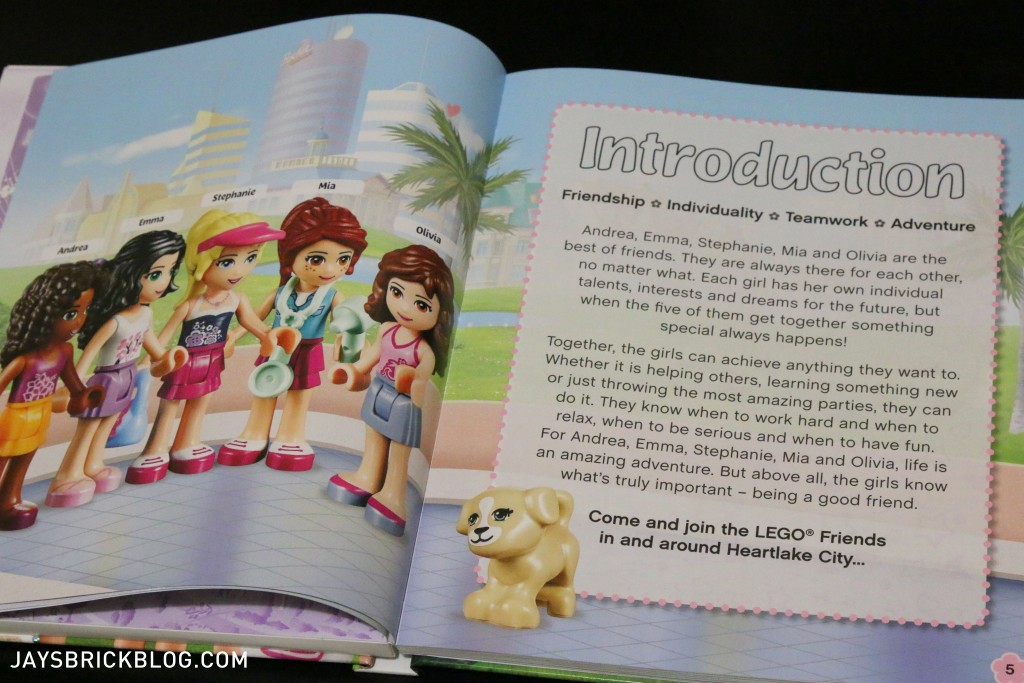 LEGO Friends The Adventure Guide Book - Introduction