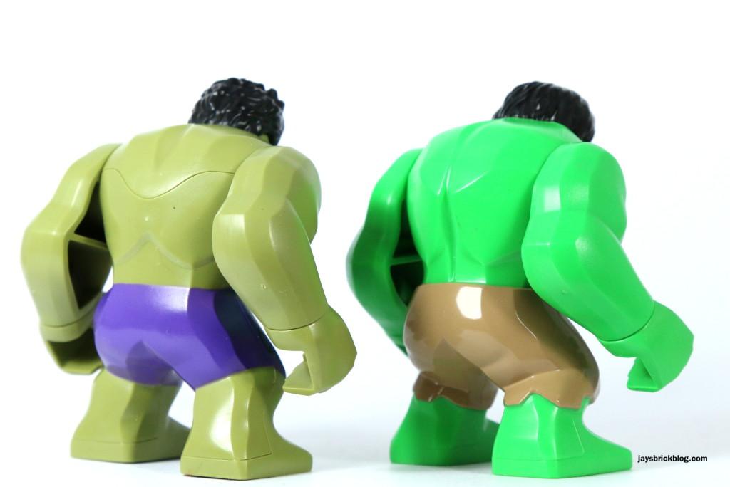 LEGO Hulk bigfig back comparison