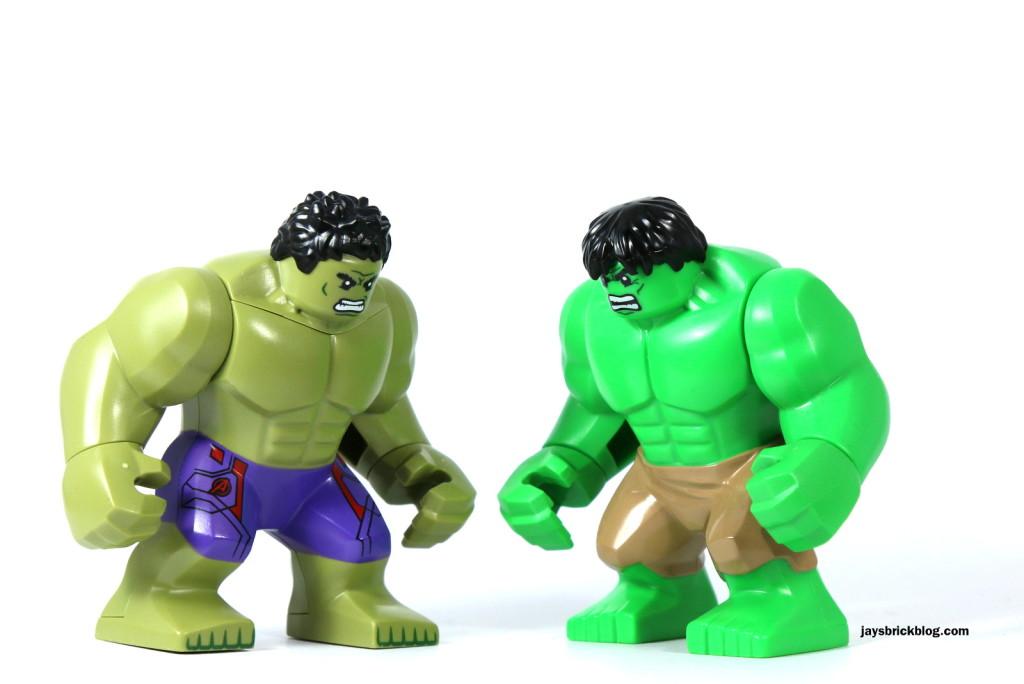 LEGO Hulk bigfig comparison