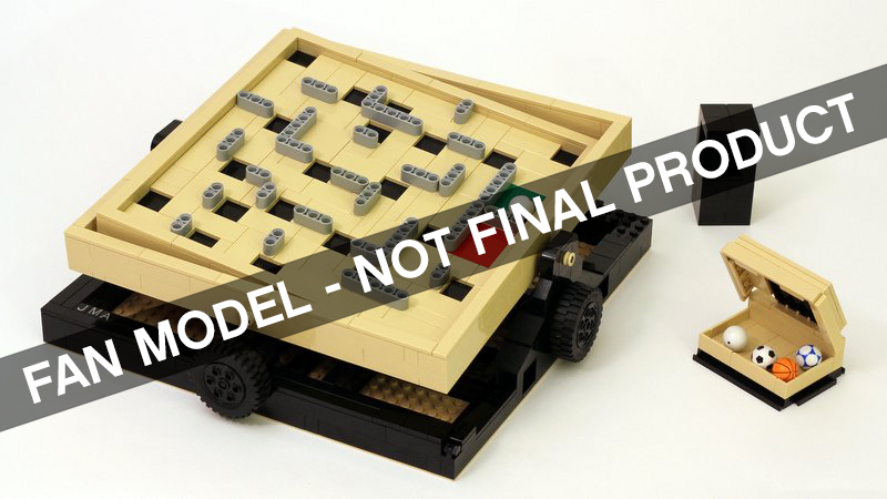Labyrinth Marble Maze is the next LEGO Ideas set
