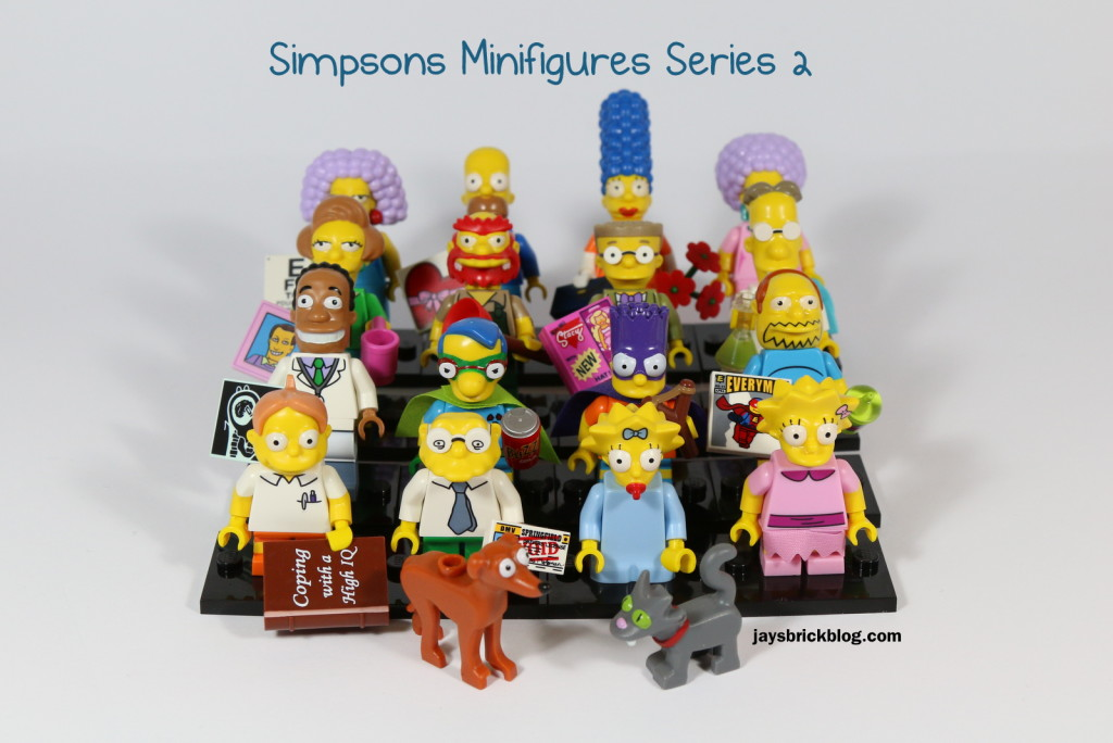 Review: LEGO Simpsons Minifigures Series 2