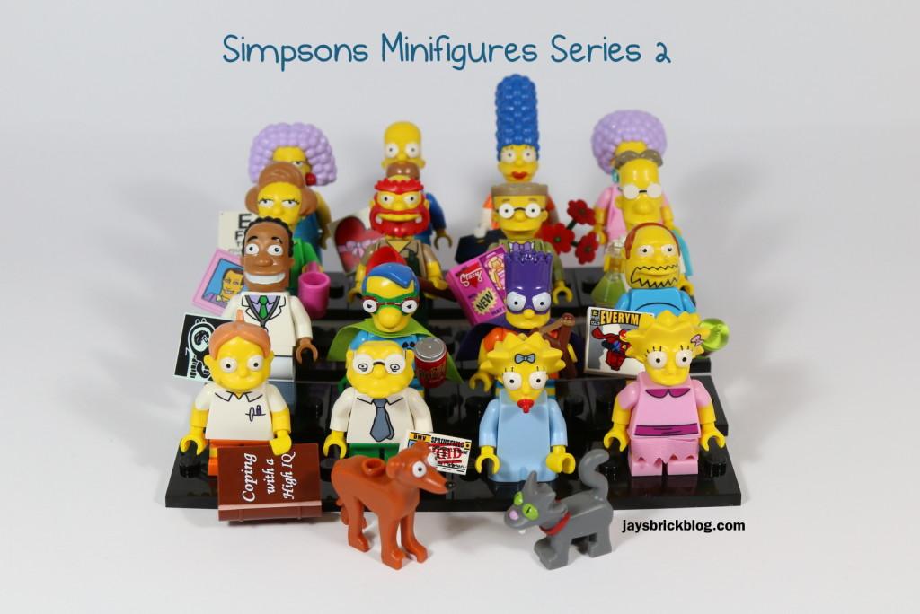 LEGO Simpsons Minifigures Series 2