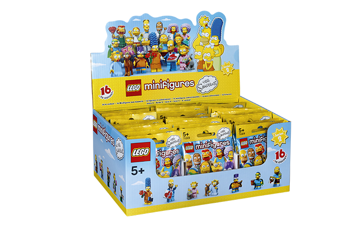 LEGO Simpsons Minifigures Series 2 Box