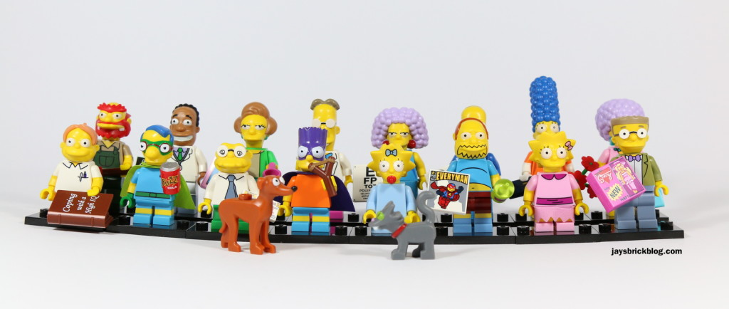 LEGO Simpsons Minifigures Series 2 Characters