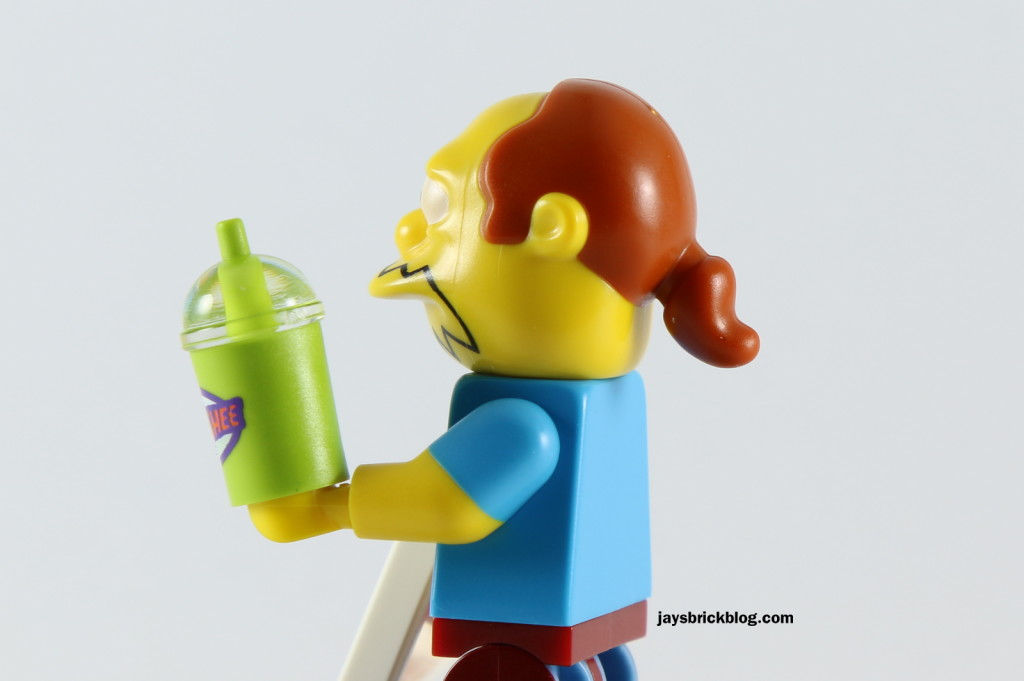 LEGO Simpsons Minifigures Series 2 - Comic Book Guy Ponytail