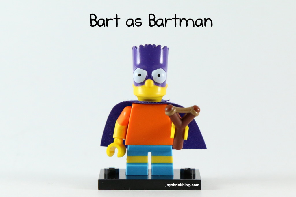 LEGO Simpsons Series 2 - Bart Simpson Bartman Minifigure