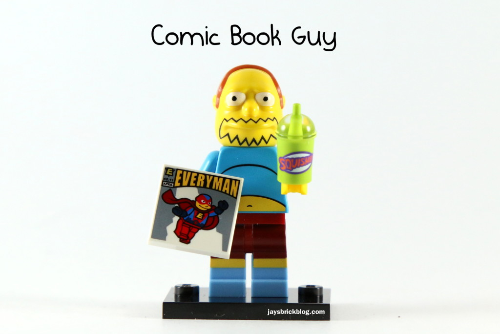 LEGO Simpsons Series 2 - Comic Book Guy Minifigure