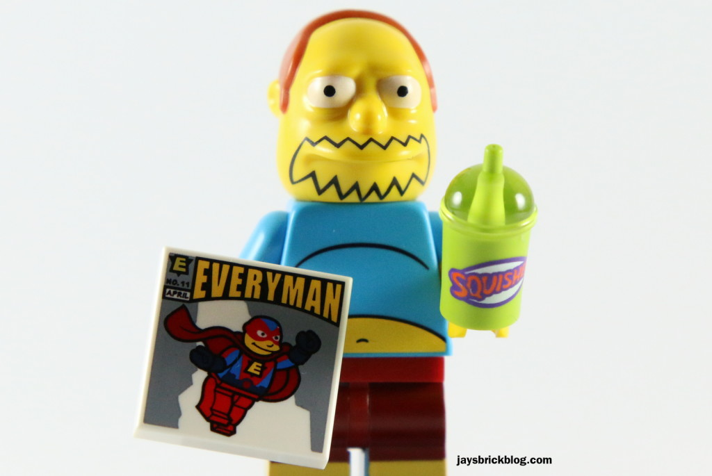 LEGO Simpsons Series 2 - Comic Book Guy Tile Squishee