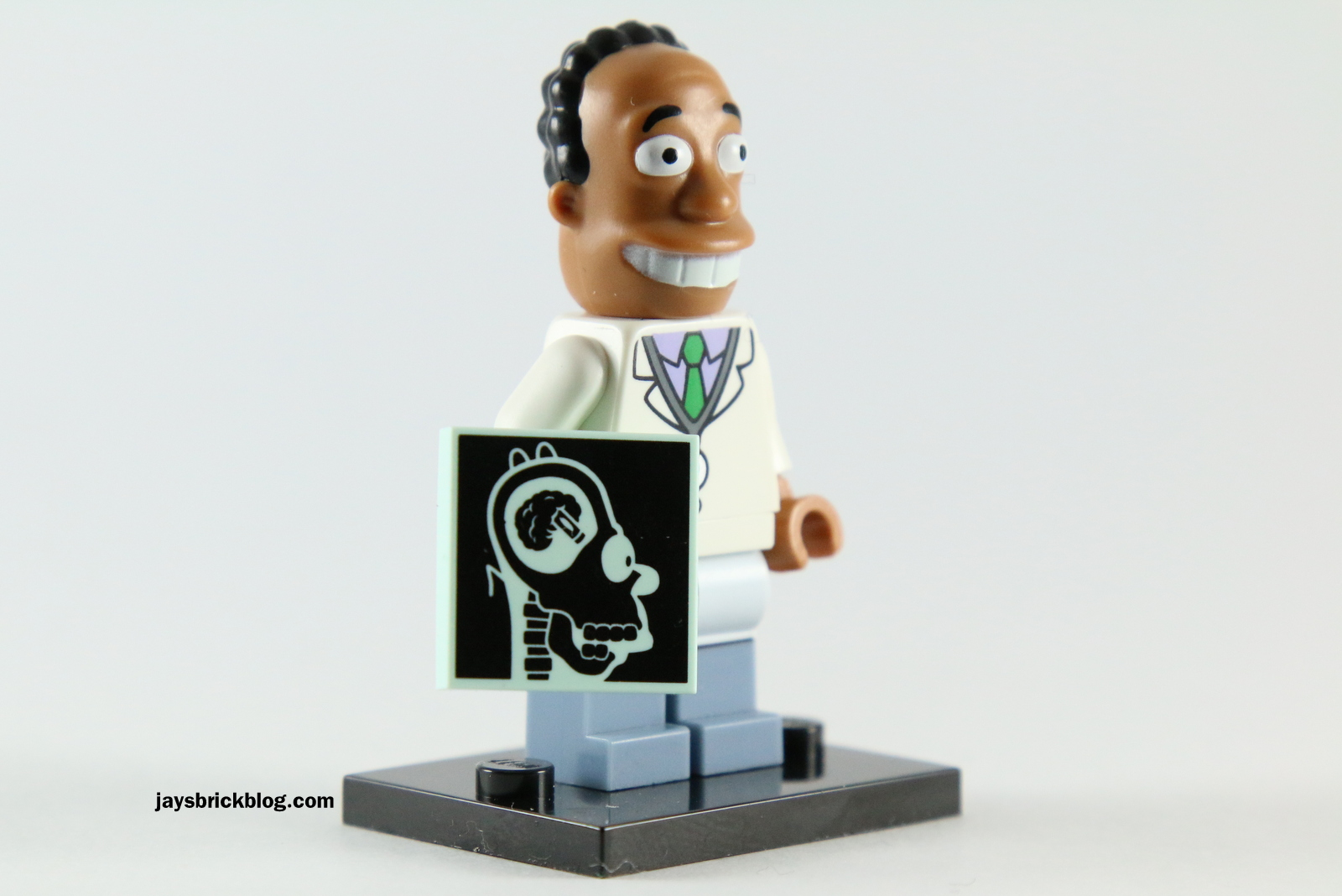 LEGO-MINIFIGURES SERIES 2 SIMPSONS X 1 HEAD FOR JULIUS HIBBERT THE SIMPSONS PART