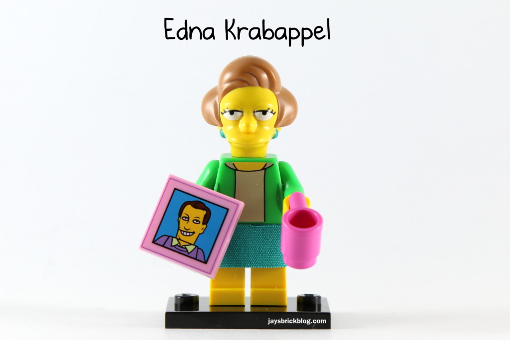 LEGO Simpsons Series 2 - Edna Krabappel Minifigure