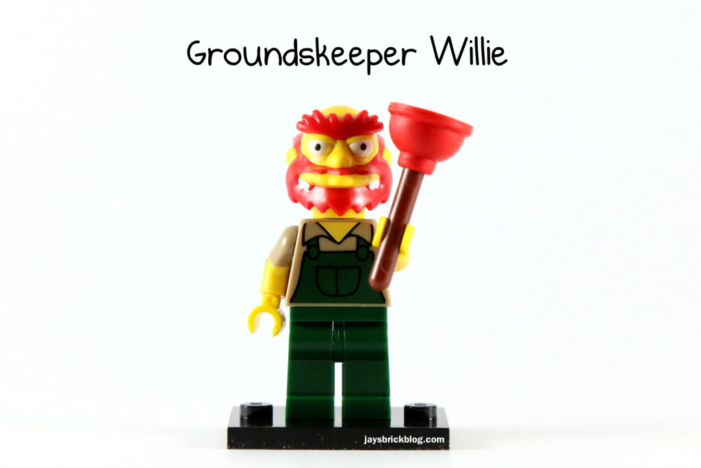 LEGO Simpsons Series 2 - Groundskeeper Willie Minifigure