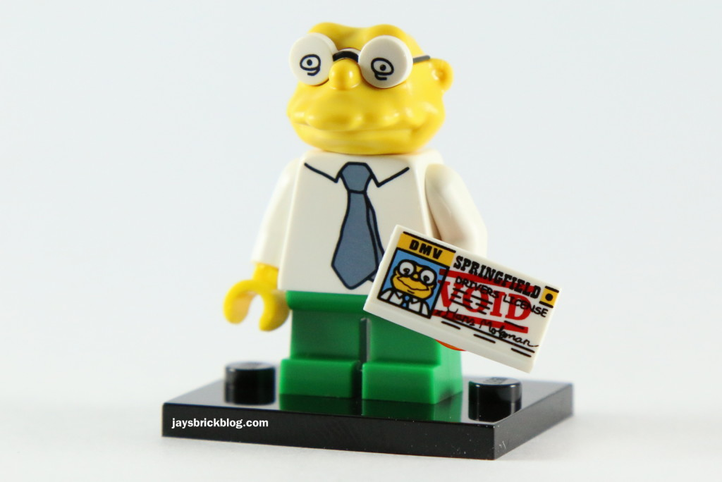 LEGO Simpsons Series 2 - Hans Moleman Driver's License
