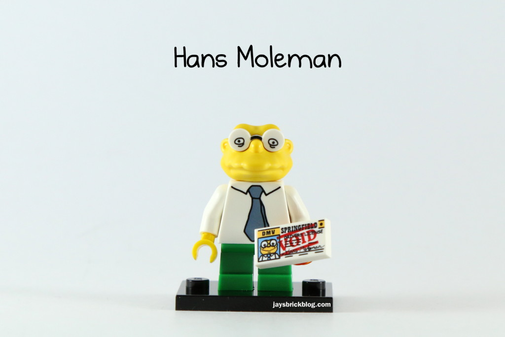 LEGO Simpsons Series 2 - Hans Moleman Minifigure