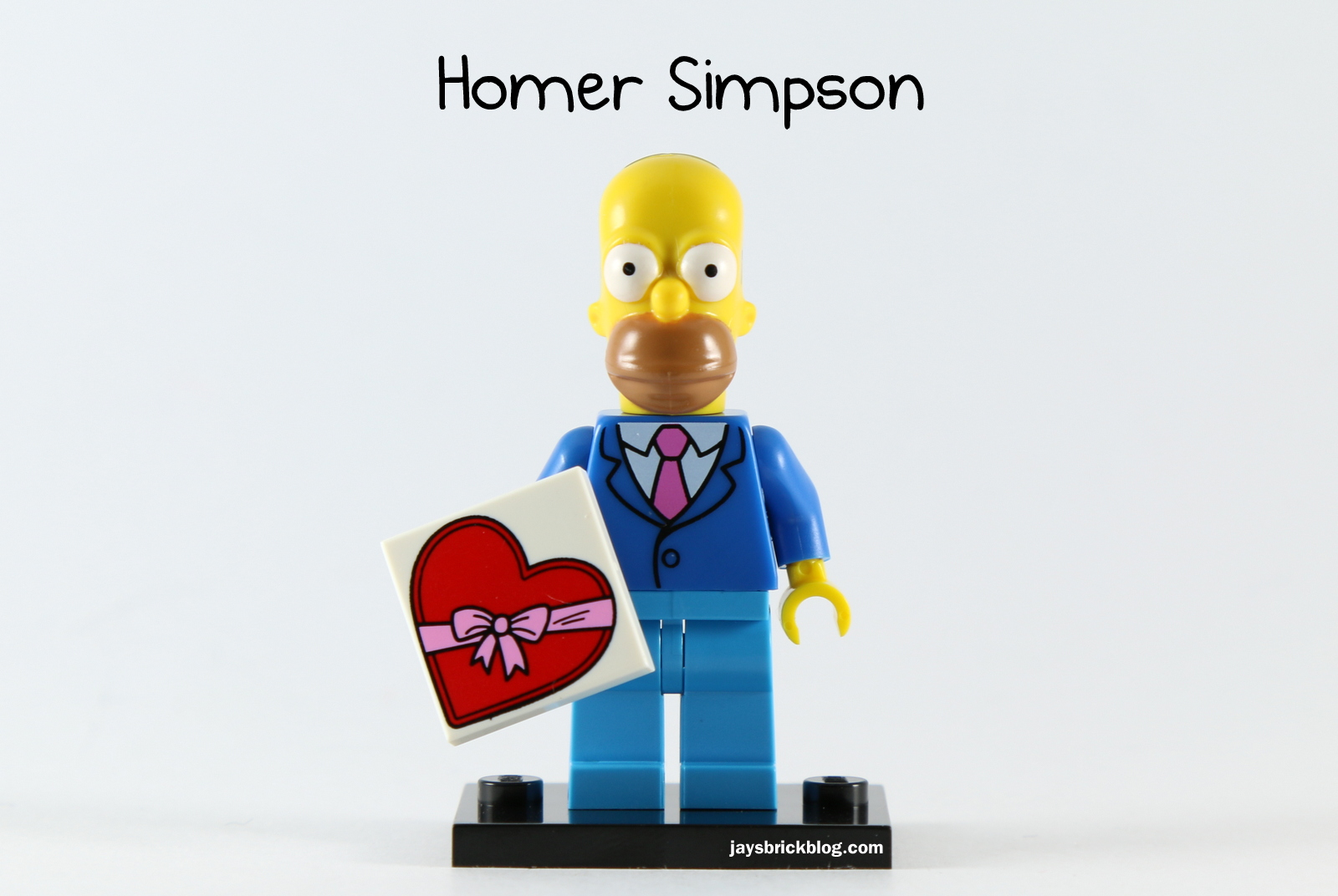 Review Lego Simpsons Minifigures Series 2 Blok Creative Toys Isi 100 Pcs Homer Simpson Suit And Tie Minifigure