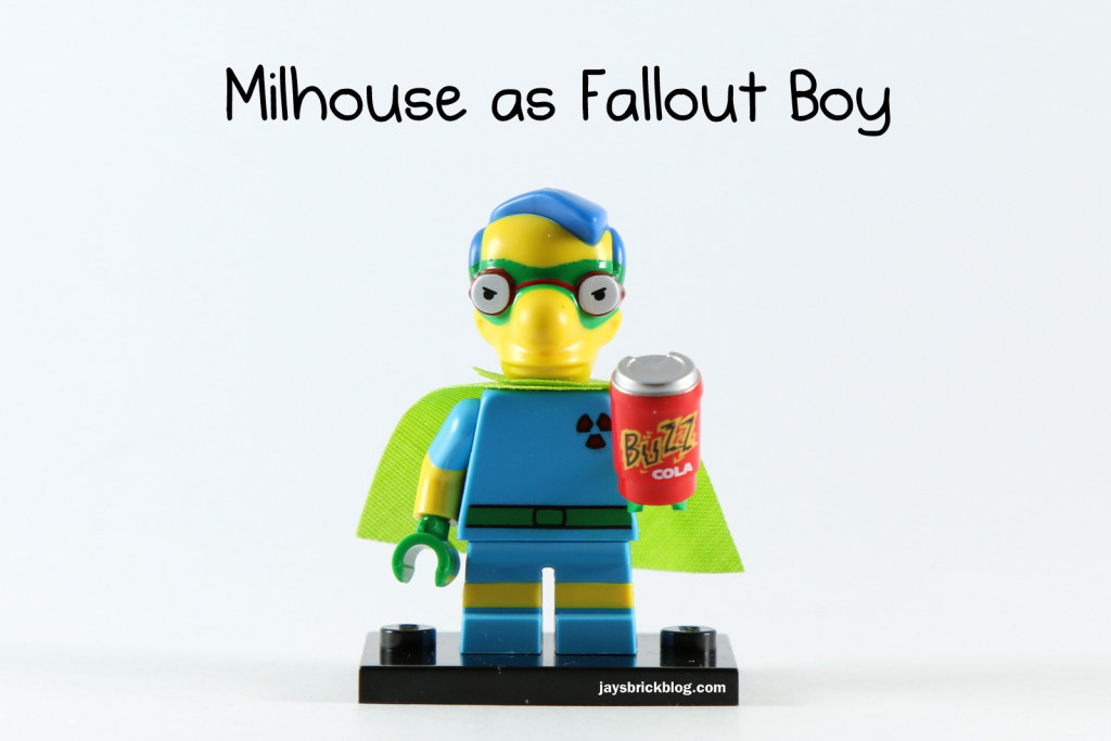 LEGO Simpsons Series 2 - Milhouse Fallout Boy Minifigure
