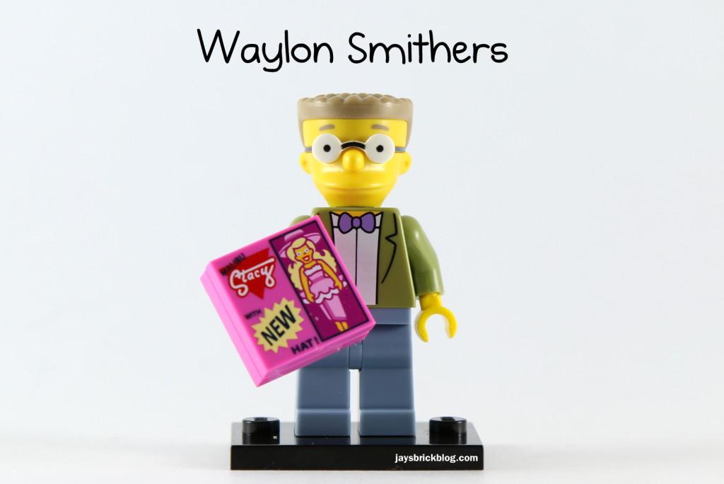 LEGO Simpsons Series 2 - Waylon Smithers Minifigure