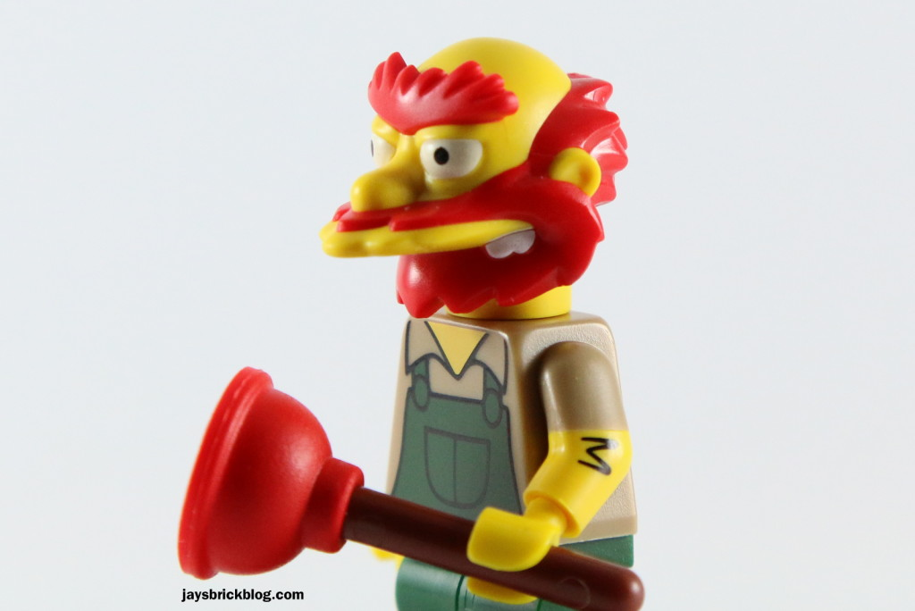 LEGO Simpsons Series 2 - Willie Plunger